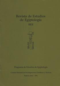 Publicación Revista de Estudios de Egiptología (REE)